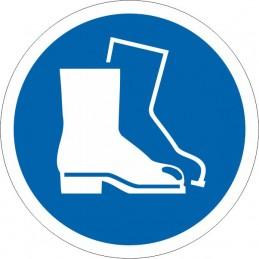 SYSSA - Señal Uso obligatorio del calzado de seguridad
