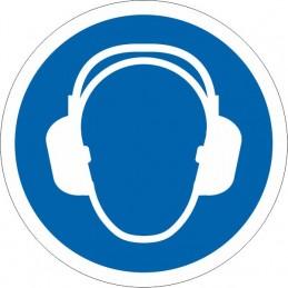 SYSSA Señalización - Señal Es obligatorio el uso de protección acústica