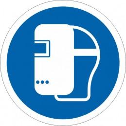 SYSSA Señalización - Señal Es obligatorio el uso de gafas o pantalla