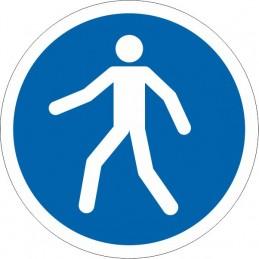SYSSA Señalizacion - Señal Vía obligatoria para peatones