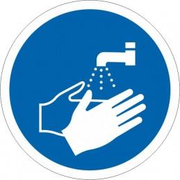 SYSSA Señalización - Señal Es obligatorio lavarse las manos