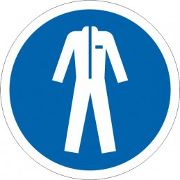 SYSSA Señalizacion - Señal Uso obligatorio de ropa protectora