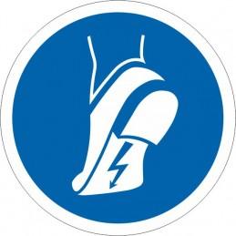 SYSSA Señalizacion - Señal Uso obligatorio de calzado antiestático