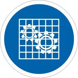 SYSSA Señalizacion - Señal Uso obligatorio de protector fijo