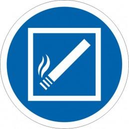 SYSSA Señalización - Señal Permitido fumar dentro de esta zona
