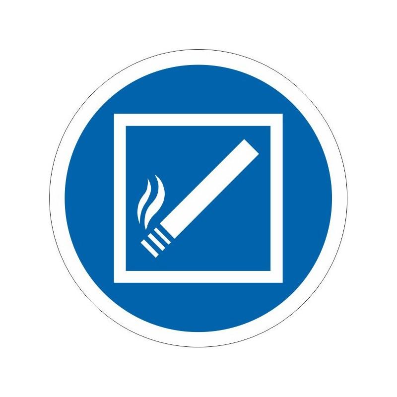UFZ-Disco Permitido fumar dentro de esta zona - Referencia UFZ