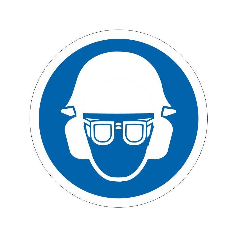 UCGA-És obligatori l'ús de casc, ulleres i protecció acústica