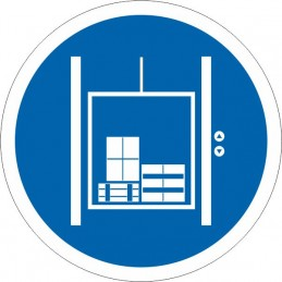 SYSSA Señalización - Señal Sólo mercancías