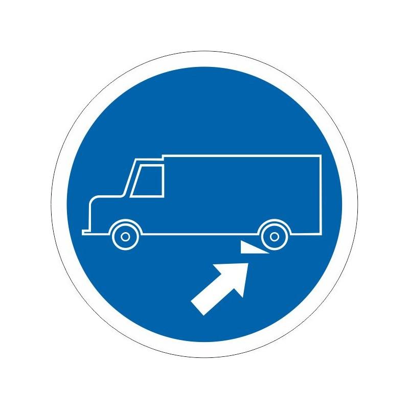 UCC-Disco Es obligatorio calzar el camión - Referencia UCC