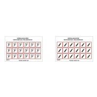 SYSSA - Tienda Online - Laminas etiquetas ADR adhesivas 25x25 mm