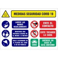 Señalizacion Covid-19 - SYSSA - Tienda Online